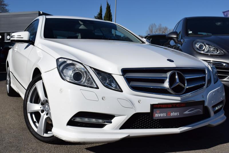 Mercedes-Benz CLASSE E COUPE (C207) 250 CDI BE EXECUTIVE 7GTRO+ AMG Diesel BLANC Occasion à vendre