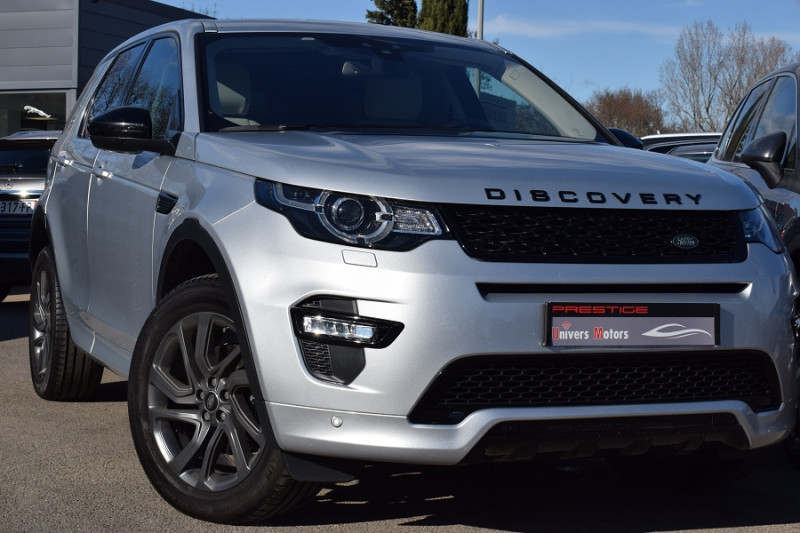 Land-Rover DISCOVERY SPORT 2.0 TD4 150CH HSE AWD BVA Diesel GRIS Occasion à vendre