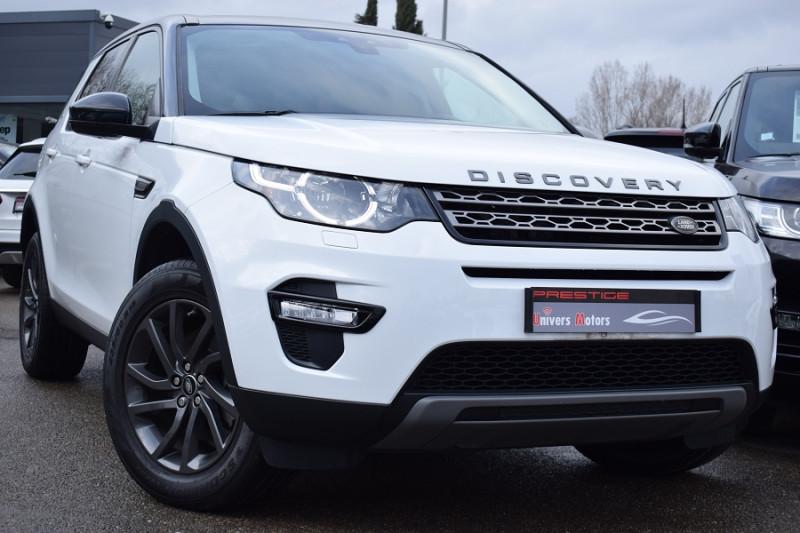 Land-Rover DISCOVERY SPORT 2.0 TD4 150CH AWD SE BVA Diesel BLANC Occasion à vendre