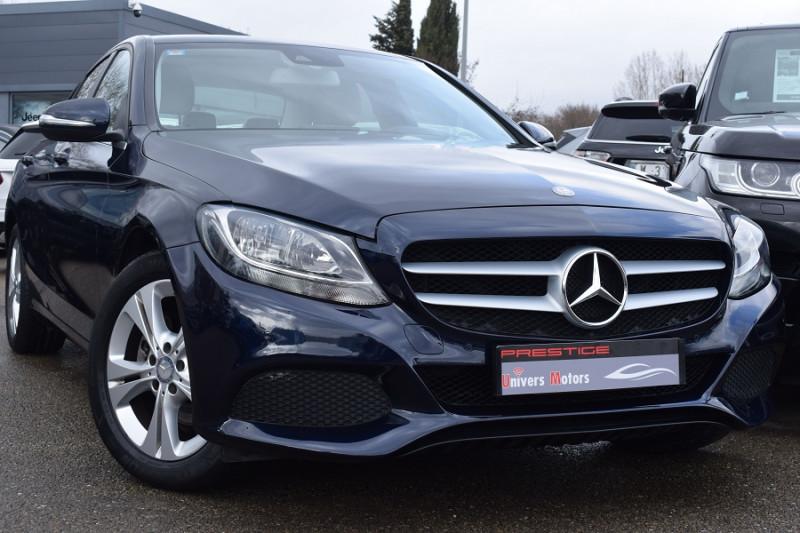 Mercedes-Benz CLASSE C (W205) 220 BLUETEC SPORTLINE  7G-TRONIC PLUS Diesel BLEU Occasion à vendre