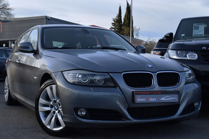 Bmw SERIE 3 TOURING (E91) 318D 143CH EDITION CONFORT Diesel ANTHRACITE Occasion à vendre