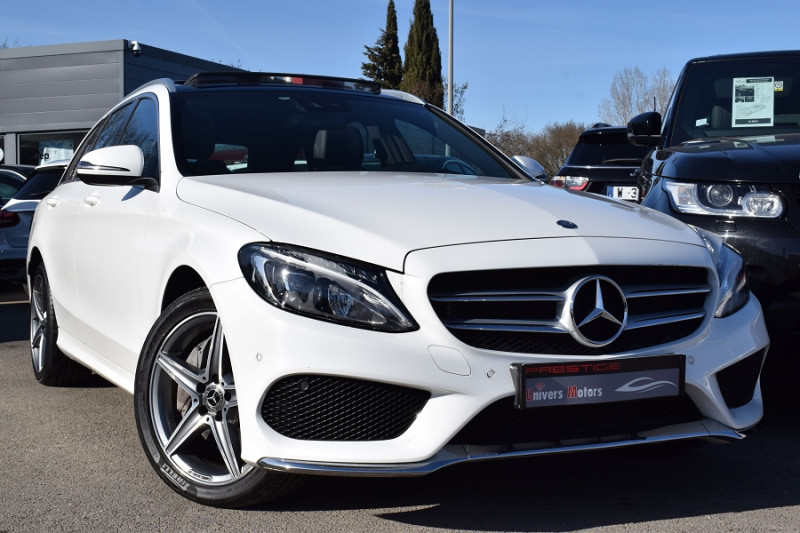 Mercedes-Benz CLASSE C BREAK (S205) 250 D FASCINATION 4MATIC 9G-TRONIC Diesel BLANC Occasion à vendre