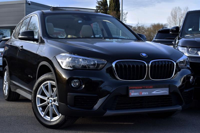 Bmw X1 (F48) XDRIVE18D 150CH BUSINESS Diesel NOIR Occasion à vendre