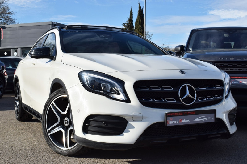 Mercedes-Benz CLASSE GLA (X156) 220 D FASCINATION 4MATIC 7G-DCT Diesel BLANC Occasion à vendre