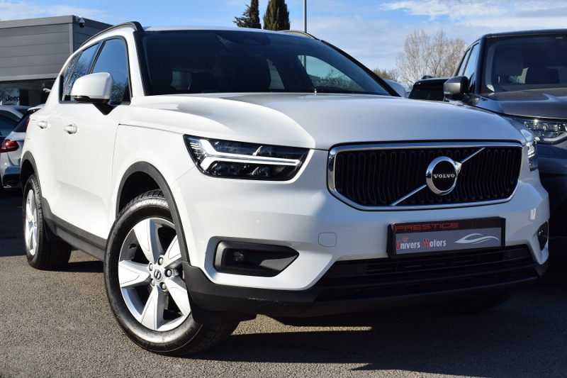 Volvo XC40 T4 AWD 190CH BUSINESS GEARTRONIC 8 Essence BLANC Occasion à vendre