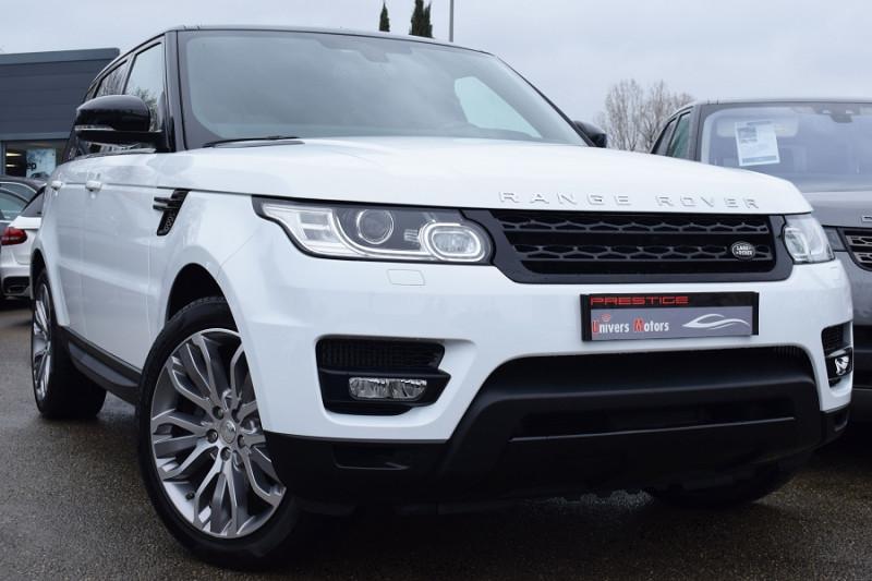Land-Rover RANGE ROVER SPORT TDV6 3.0 HSE DYNAMIC Diesel BLANC Occasion à vendre