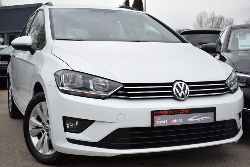 Volkswagen GOLF SPORTSVAN 1.6 TDI 110CH BLUEMOTION TECHNOLOGY FAP CONFORTLINE Diesel BLANC Occasion à vendre