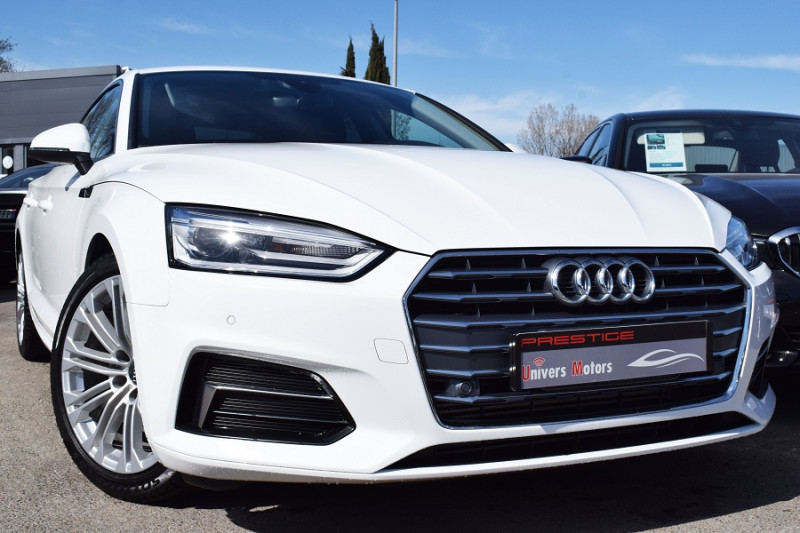 Audi A5 SPORTBACK 2.0 TFSI 190CH BUSINESS LINE Essence BLANC Occasion à vendre