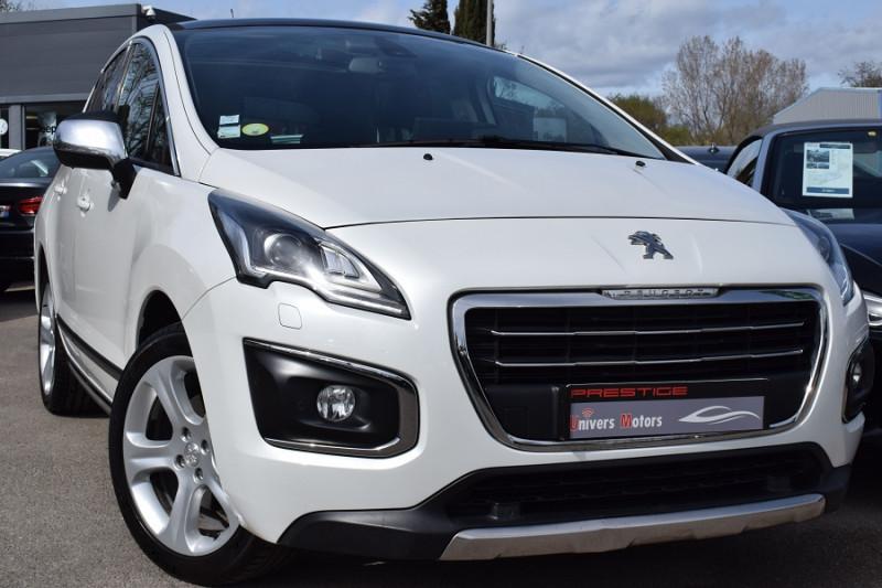 Peugeot 3008 2.0 HDI150 FAP FELINE Diesel BLANC NACRE Occasion à vendre
