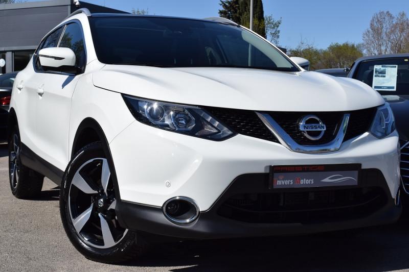 Nissan QASHQAI 1.2L DIG-T 115CH CONNECT EDITION XTRONIC Essence BLANC NACRE Occasion à vendre