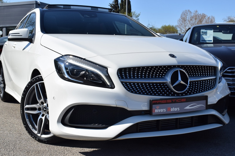 Mercedes-Benz CLASSE A (W176) 180 D FASCINATION AMG Diesel BLANC Occasion à vendre