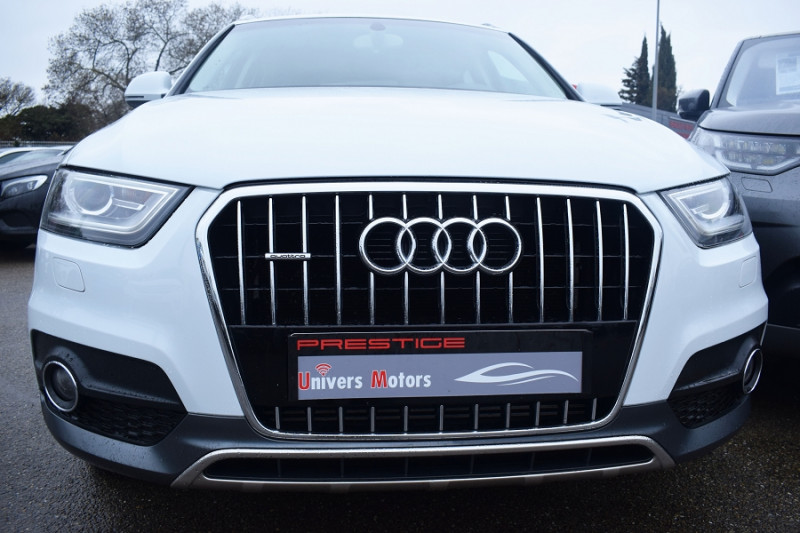 Audi Q3 2.0 TDI 140CH SPORT QUATTRO Diesel BLANC Occasion à vendre