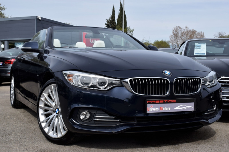 Photo 1 de l'offre de BMW SERIE 4 CABRIOLET (F33) 435DA XDRIVE 313CH LUXURY à 31900€ chez Univers Motors
