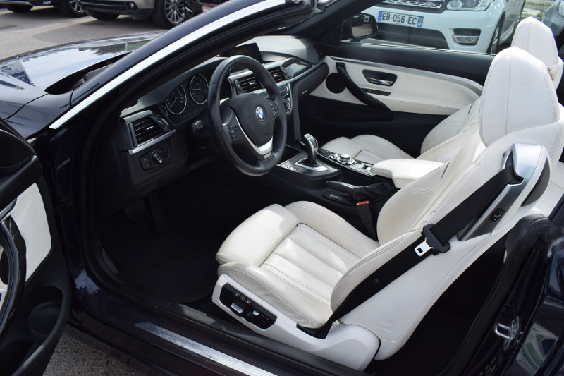 Photo 10 de l'offre de BMW SERIE 4 CABRIOLET (F33) 435DA XDRIVE 313CH LUXURY à 31900€ chez Univers Motors