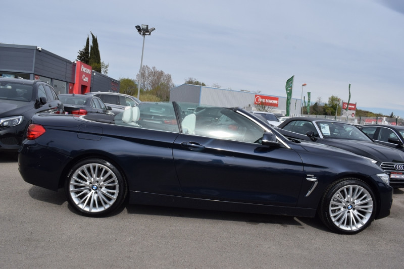 Photo 12 de l'offre de BMW SERIE 4 CABRIOLET (F33) 435DA XDRIVE 313CH LUXURY à 31900€ chez Univers Motors