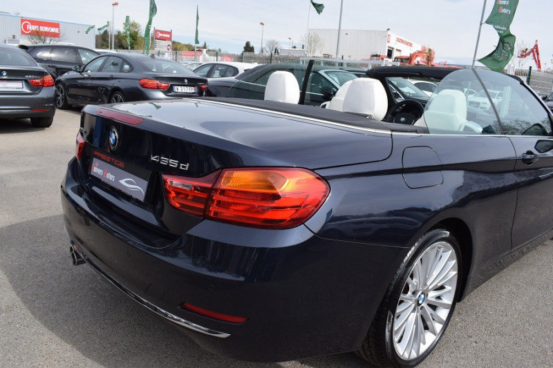Photo 23 de l'offre de BMW SERIE 4 CABRIOLET (F33) 435DA XDRIVE 313CH LUXURY à 31900€ chez Univers Motors