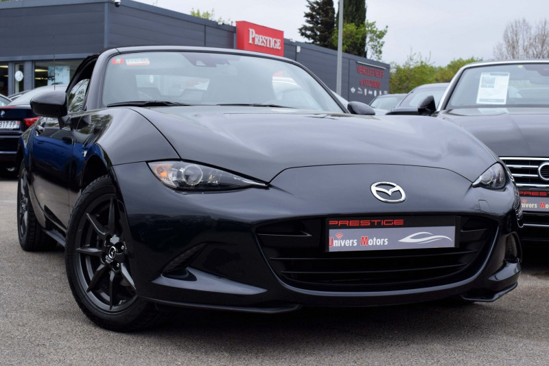 Mazda MX-5 1.5 SKYACTIV-G 131 SELECTION 2017 Essence NOIR Occasion à vendre