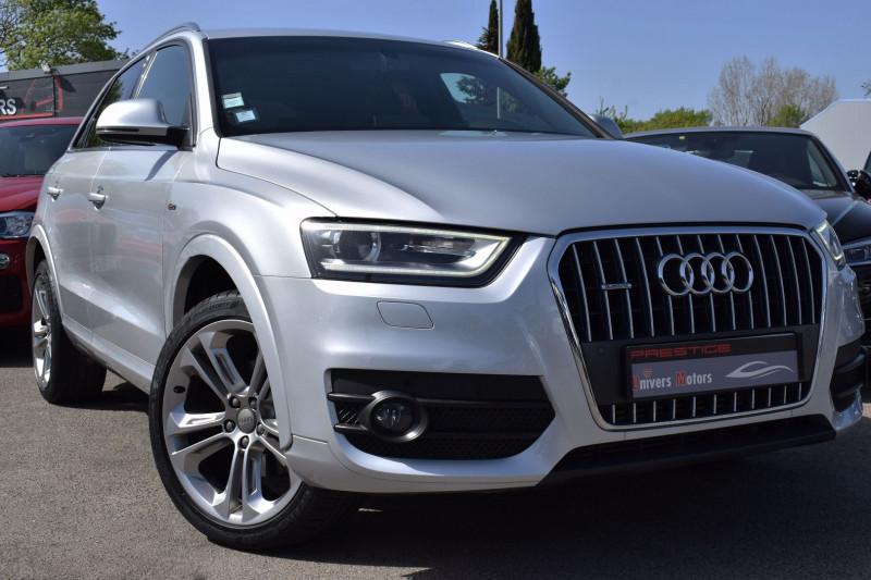 Audi Q3 2.0 TDI 177CH S LINE QUATTRO S TRONIC 7 Diesel GRIS CLAIR Occasion à vendre
