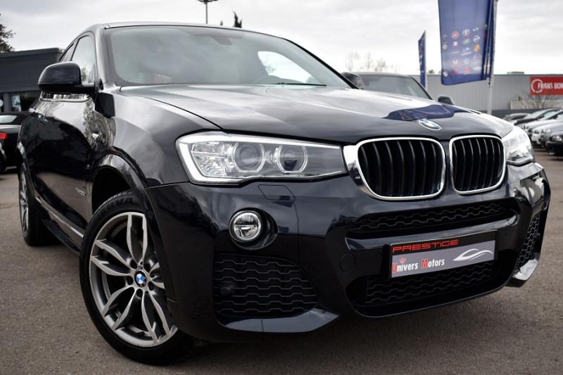 Bmw X4 (F26) XDRIVE20DA 190CH M SPORT Diesel BLEU FONCE Occasion à vendre