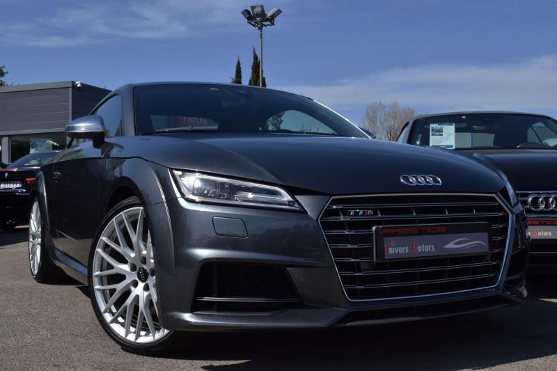 Audi TTS 2.0 TFSI 310CH QUATTRO S TRONIC 6 Essence GRIS DAYTONA Occasion à vendre