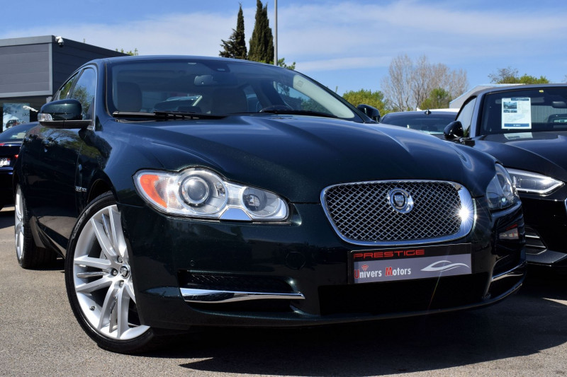 Jaguar XF 3.0 V6 LUXE PREMIUM Essence VERT Occasion à vendre
