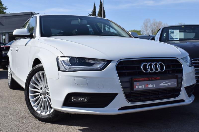 Audi A4 AVANT 2.0 TDI 143CH DPF AMBIENTE MULTITRONIC Diesel BLANC Occasion à vendre