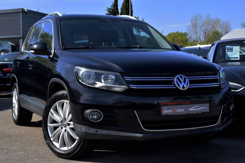 Volkswagen TIGUAN 2.0 TDI 140CH FAP SPORTLINE 4MOTION DSG7 Diesel NOIR Occasion à vendre