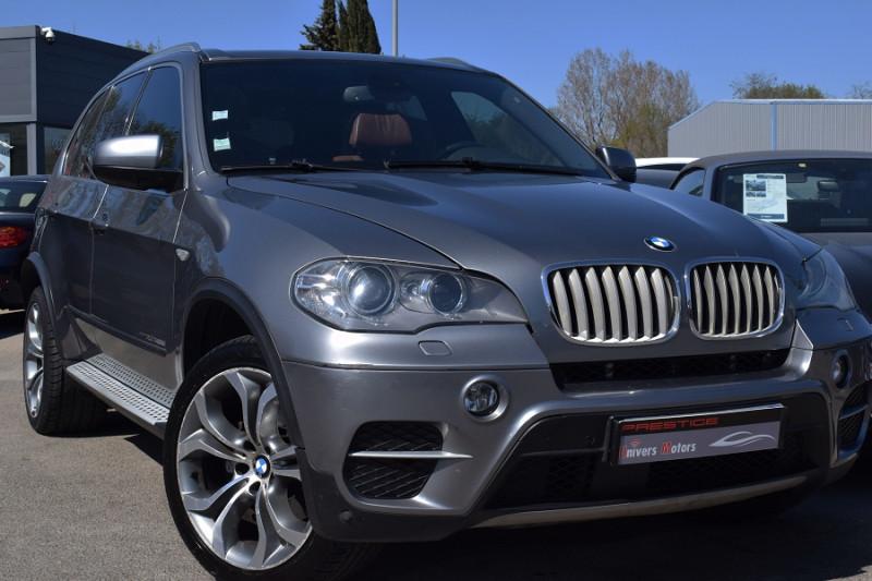 Bmw X5 (E70) XDRIVE40DA 306CH EXCLUSIVE 7PLACES Diesel GRIS FONCE Occasion à vendre