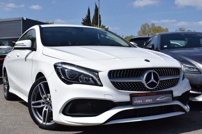 Mercedes-Benz CLA (C117) 200 D FASCINATION 7G-DCT AMG Diesel BLANC Occasion à vendre