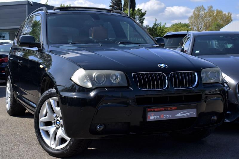 Bmw X3 (E83) 3.0DA 218CH MSPORT Diesel NOIR Occasion à vendre