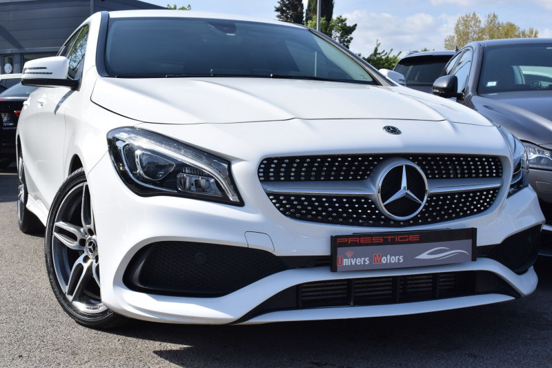 Mercedes-Benz CLA SHOOTING BRAKE 200 D FASCINATION 7G-DCT AMG Diesel BLANC Occasion à vendre