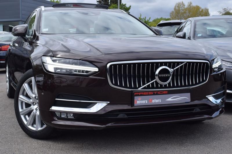 Volvo V90 D4 AWD 190CH INSCRIPTION GEARTRONIC Diesel BRUN Occasion à vendre