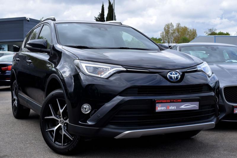 Toyota RAV4 197 HYBRIDE DESIGN BUSINESS 2WD CVT Hybride NOIR Occasion à vendre