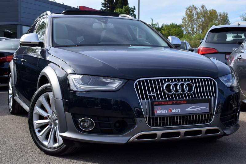 Audi A4 ALLROAD 3.0 V6 TDI 245CH CLEAN DIESEL AMBITION LUXE QUATTRO S TRONIC 7 EURO6 Diesel BLEU Occasion à vendre