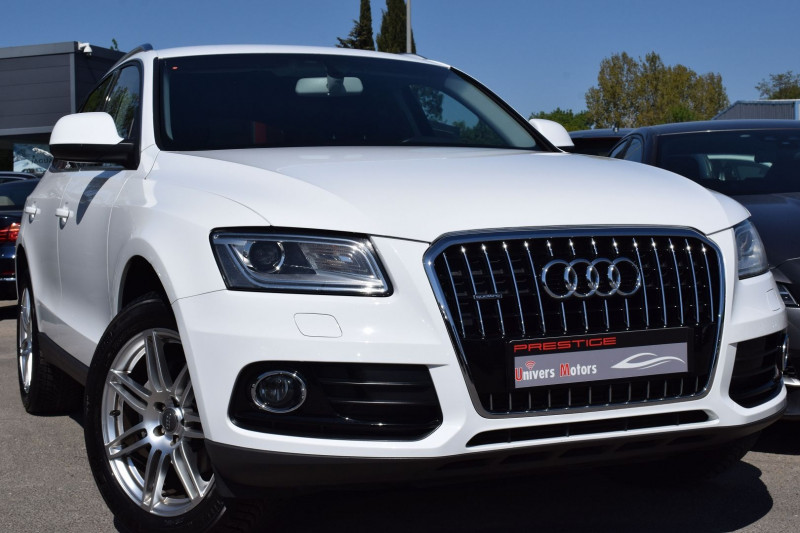 Audi Q5 2.0 TDI 177CH FAP BUSINESS LINE QUATTRO S TRONIC 7 Diesel BLANC Occasion à vendre