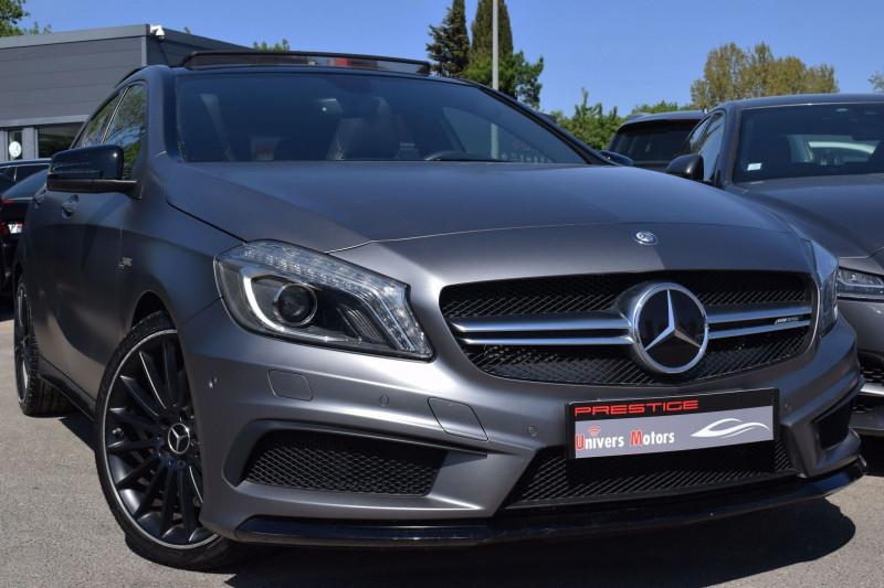 Mercedes-Benz CLASSE A (W176) 45 AMG 4MATIC SPEEDSHIFT-DCT Essence ANTHRACITE MAT Occasion à vendre
