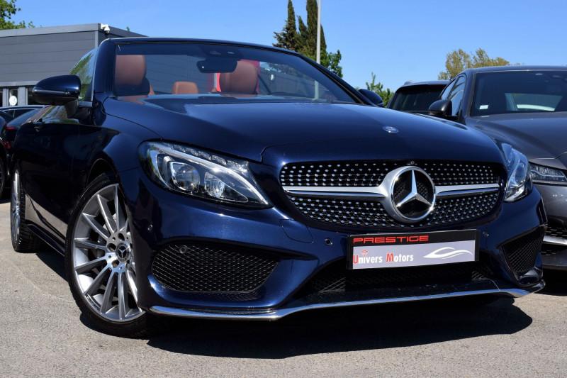 Mercedes-Benz CLASSE C CABRIOLET 220 D 170CH SPORTLINE 9G-TRONIC Diesel BLEU METALISE Occasion à vendre