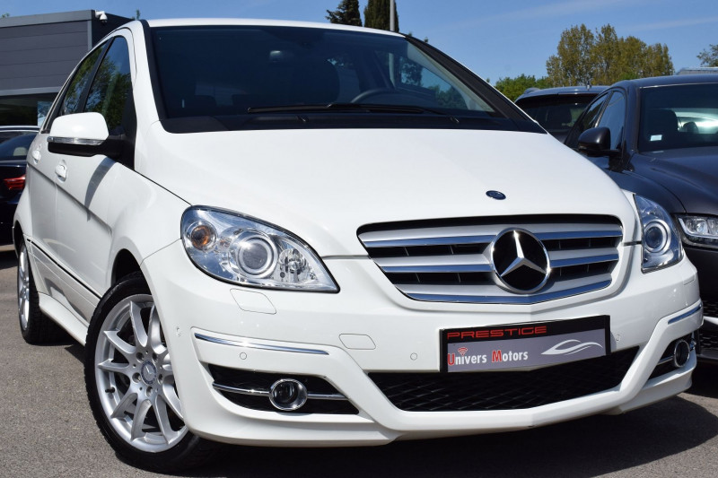 Mercedes-Benz CLASSE B (T245) 200 TURBO SPORT Essence BLANC Occasion à vendre