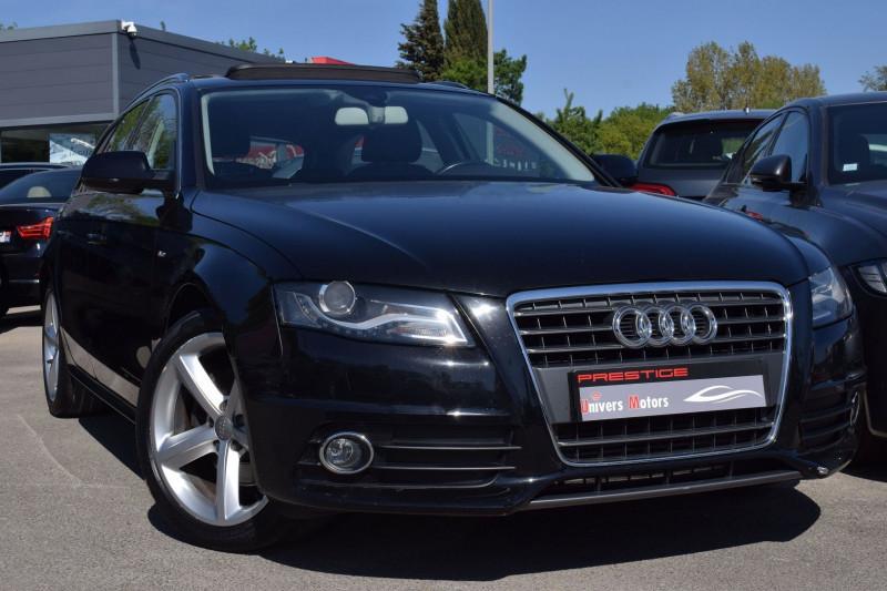 Audi A4 AVANT 2.0 TDI 170CH S LINE Diesel NOIR Occasion à vendre