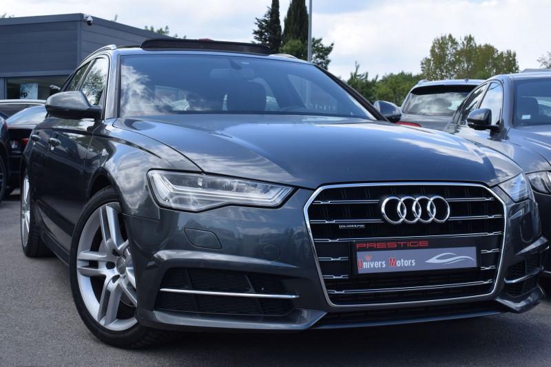 Audi A6 AVANT 3.0 V6 TDI 272CH S LINE QUATTRO S TRONIC 7 Diesel GRIS DAYTONA Occasion à vendre