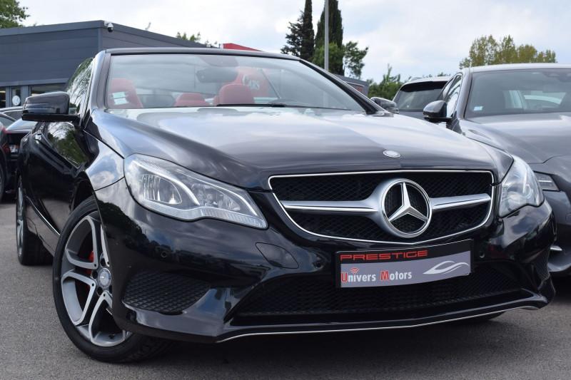 Mercedes-Benz CLASSE E CABRIOLET (A207) 220 D 170CH SPORTLINE 9G-TRONIC Diesel NOIR Occasion à vendre