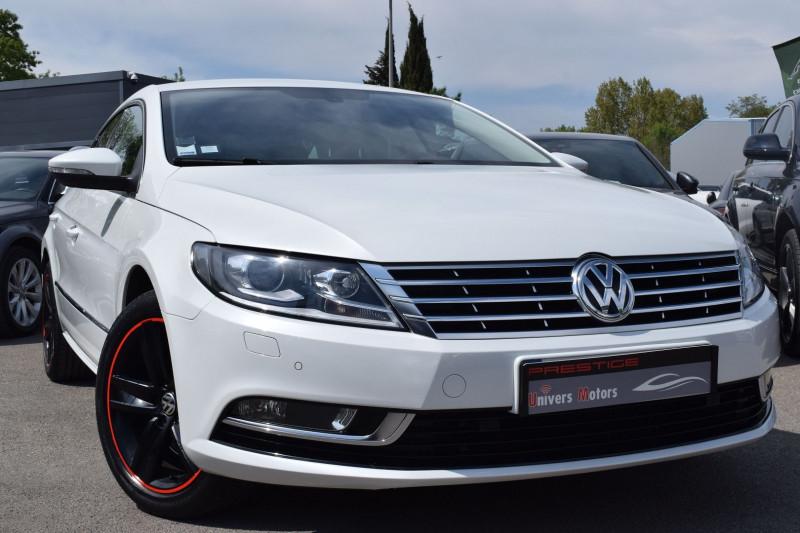 Volkswagen PASSAT CC 2.0 TDI 140CH BLUEMOTION CARAT 5 PLACES Diesel BLANC NACRE Occasion à vendre