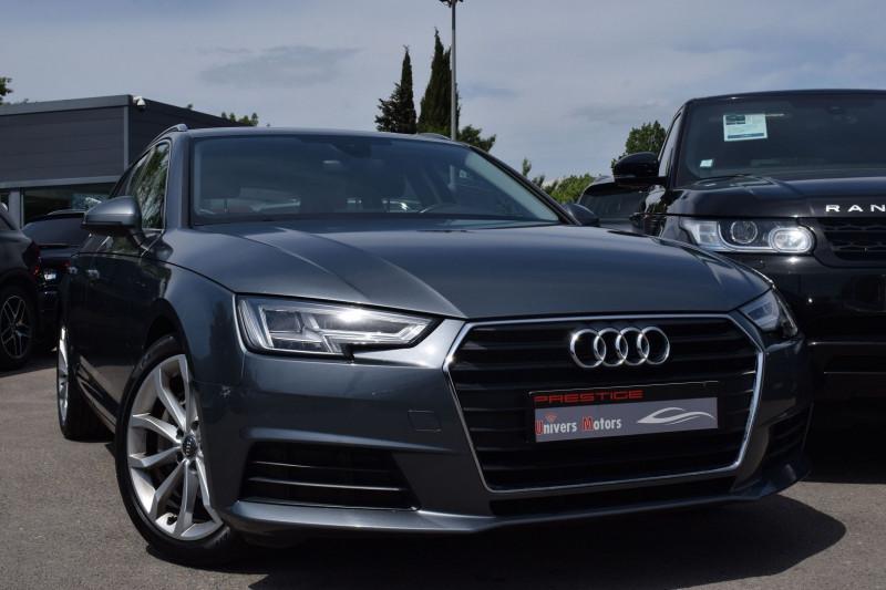 Audi A4 AVANT 2.0 TDI 190CH BUSINESS LINE S TRONIC 7 Diesel GRIS DAYTONA Occasion à vendre