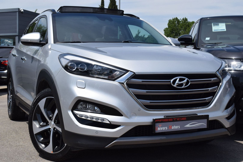 Hyundai TUCSON 2.0 CRDI 136CH XPOSSIBLE 4WD BA6 Diesel GRIS Occasion à vendre