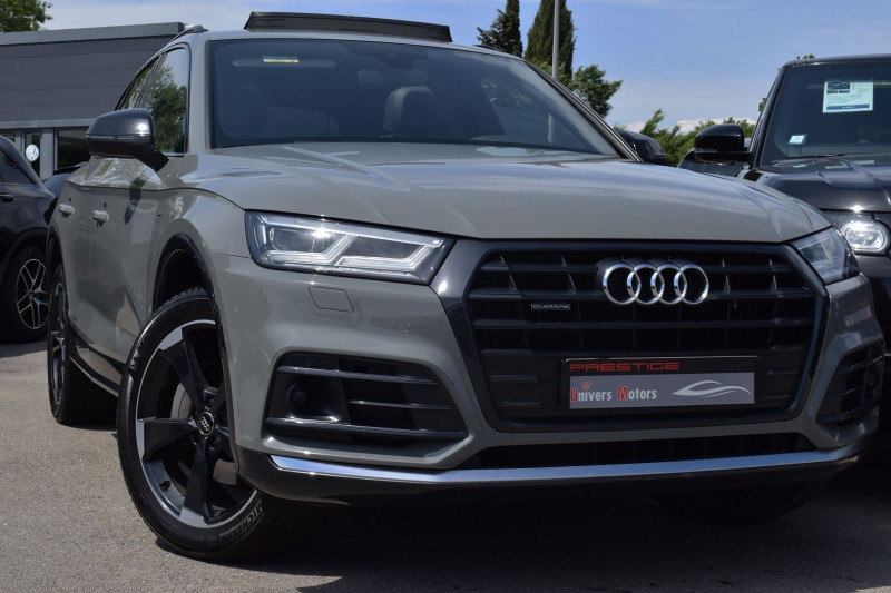 Audi Q5 2.0 TDI 190CH S LINE QUATTRO S TRONIC 7 EURO6D-T Diesel GRIS QUANTUM Occasion à vendre