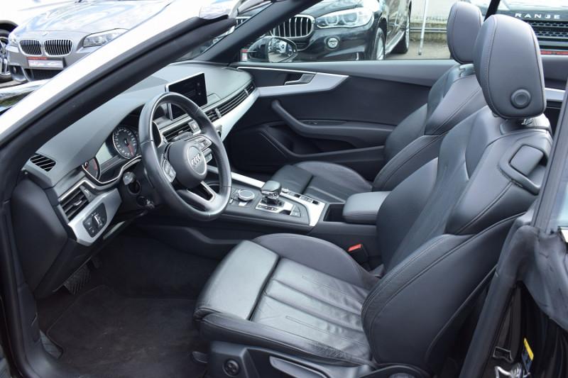 Photo 6 de l'offre de AUDI A5 CABRIOLET 2.0 TDI 190CH DESIGN LUXE QUATTRO S TRONIC 7 à 32900€ chez Univers Motors