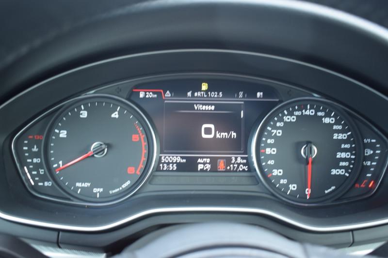 Photo 18 de l'offre de AUDI A5 CABRIOLET 2.0 TDI 190CH DESIGN LUXE QUATTRO S TRONIC 7 à 32900€ chez Univers Motors