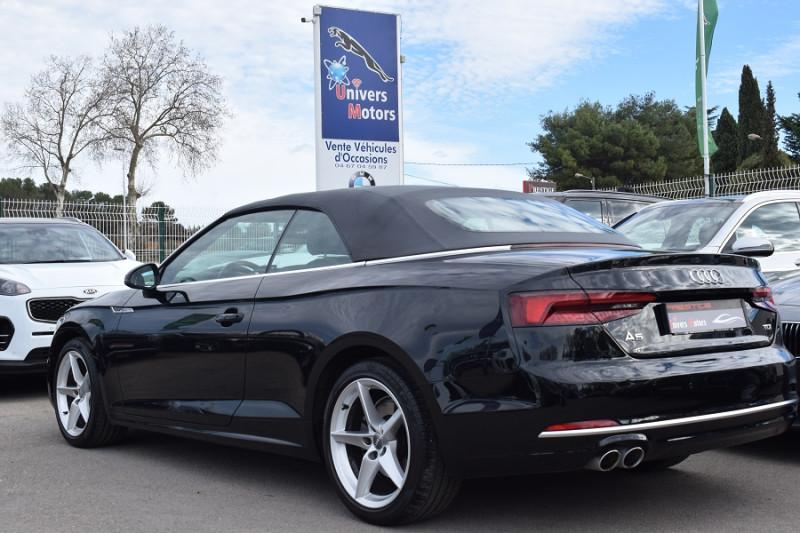 Photo 9 de l'offre de AUDI A5 CABRIOLET 2.0 TDI 190CH DESIGN LUXE QUATTRO S TRONIC 7 à 32900€ chez Univers Motors