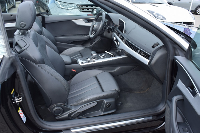 Photo 16 de l'offre de AUDI A5 CABRIOLET 2.0 TDI 190CH DESIGN LUXE QUATTRO S TRONIC 7 à 32900€ chez Univers Motors