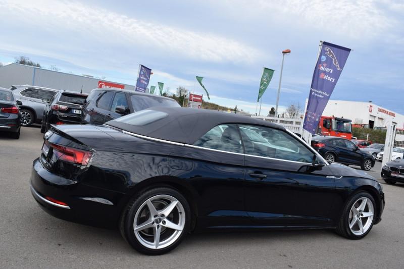 Photo 7 de l'offre de AUDI A5 CABRIOLET 2.0 TDI 190CH DESIGN LUXE QUATTRO S TRONIC 7 à 32900€ chez Univers Motors